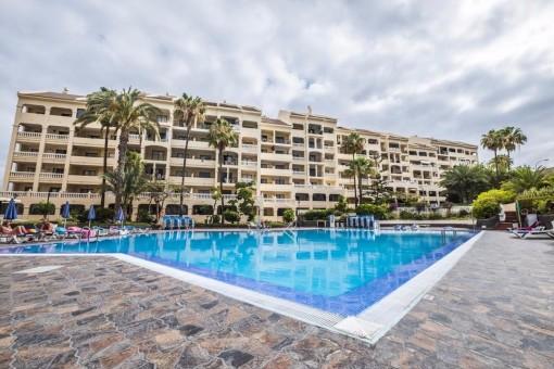 1-Zimmer-Wohnung im beliebten Castle Harbour Komplex in Los Cristianos