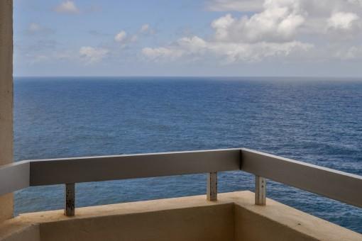 Alternativer Anblick vom Balkon