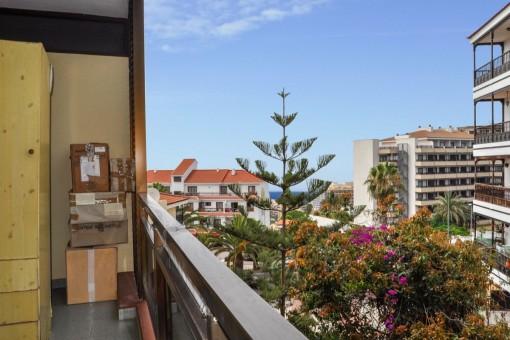 Meerblick vom Balkon der Wohnung
