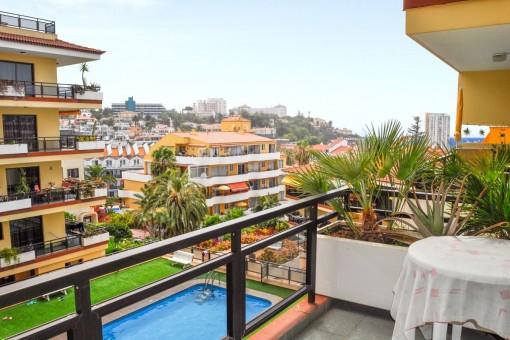 Gemütliche Ein-Schlafzimmer-Wohnung in einer gepflegten Anlage im Zentrum Puerto de la Cruz