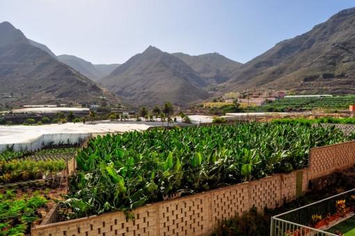 Schönes Studio mit Blick auf die Anaga-Gebirge und das Meer in der Nähe des Naturschwimmbads in Bajamar