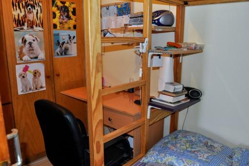 Weiterer Raum mit Hochbett