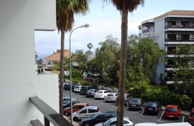Andere Perspektive vom Balkon