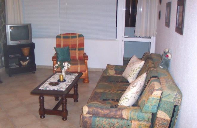 Das Sofa im Wohnbereich