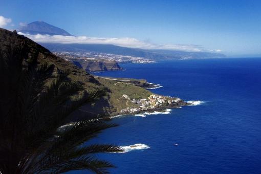 Attraktive Wohnung mit Teide und Meerblick in Puntillo del Sol