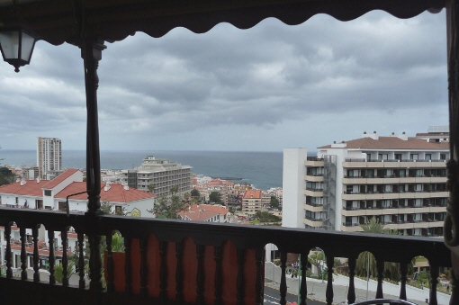 Apartment mit Meerblick in Puerto de la Cruz