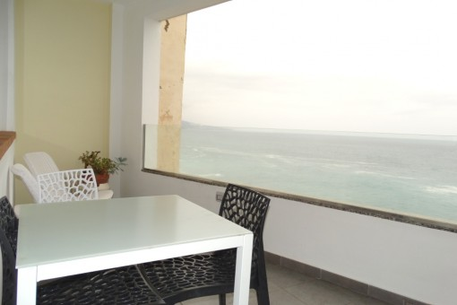 Entzückendes Apartment nahe Playa Jardín mit fantastischem Meerblick