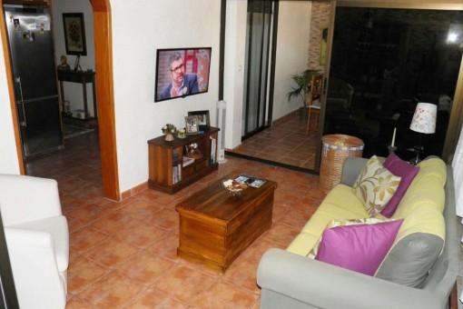 Sehr schöne 3 Zimmer Dachgeschoßwohung in Puerto de la Cruz