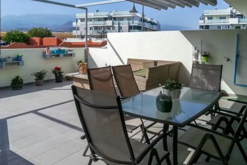 Terrasse mit Loungebereich