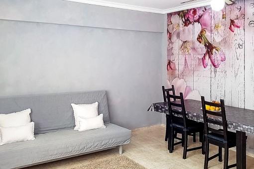 3-Schlafzimmer Wohnung in Guargacho mit Garage und Abstellraum