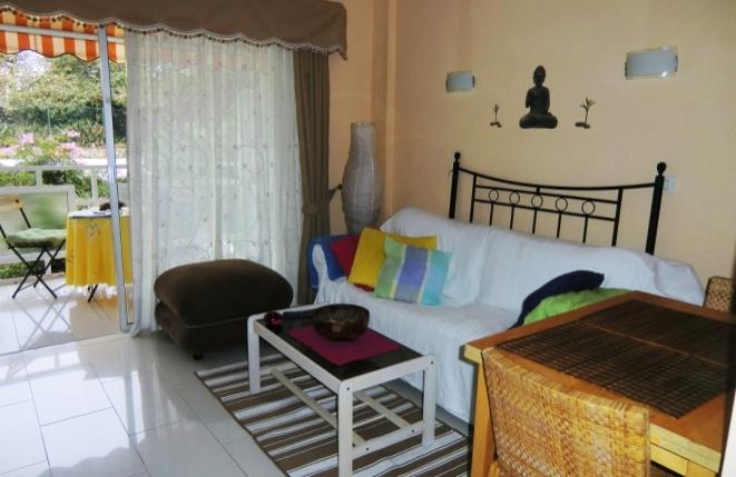 Schöne und ruhig gelegene Wohnung mit Balkon in der Nähe von La Paz