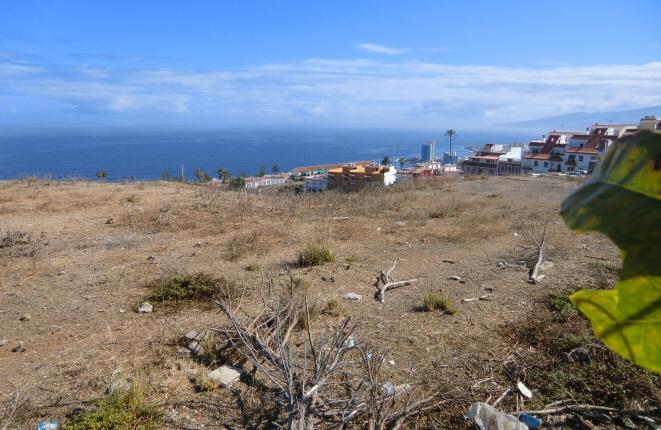 Blick auf die Umgebung und den Atlantischen Ozean
