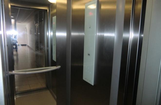 Wohnkomplex mit modernem Fahrstuhl