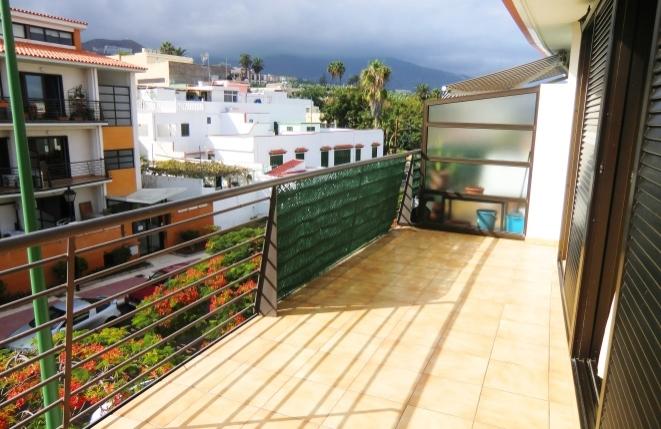 Ruhig gelegenes 2,5-Zimmer-Apartment mit Blick auf den Teide