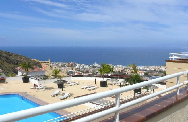 Exklusives Penthouse mit faszinierendem Meerblick in Torviscas Alto