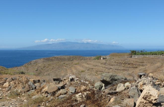 Einmaliger Meerblick auf La Gomera