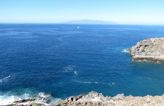Die natürliche und wilde Südwest-Küste von Teneriffa