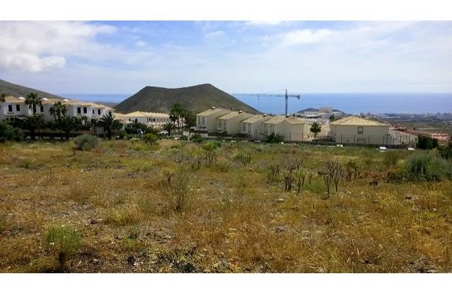 Gelände nahe Playa de las Americas und Los Cristianos
