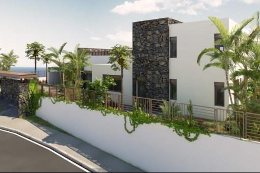 Anderer Blick auf die Villa