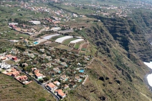 Grundstück für den Bau einer Villa mit Meerblick in Norden Teneriffas