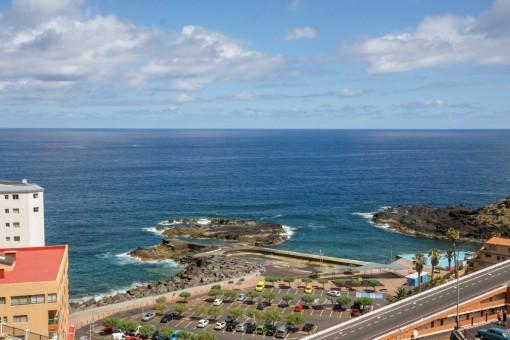 Baugrundstück mit herrlichem Meerblick ganz in der Nähe des schönen Playa de la Arena