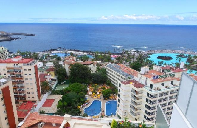 Renommiertes Hotel mit Pool und großer Dachterrasse im Herzen von Puerto de la Cruz