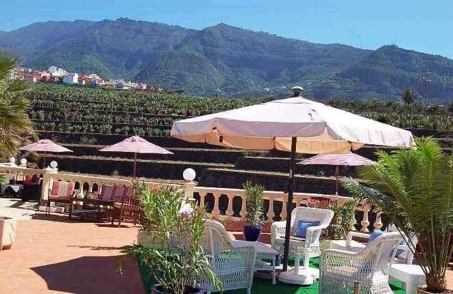 Terrasse mit schönem Landschaftsblick