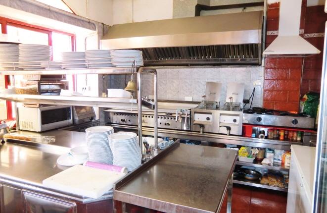 Geräumige Küche nach neustem Standard