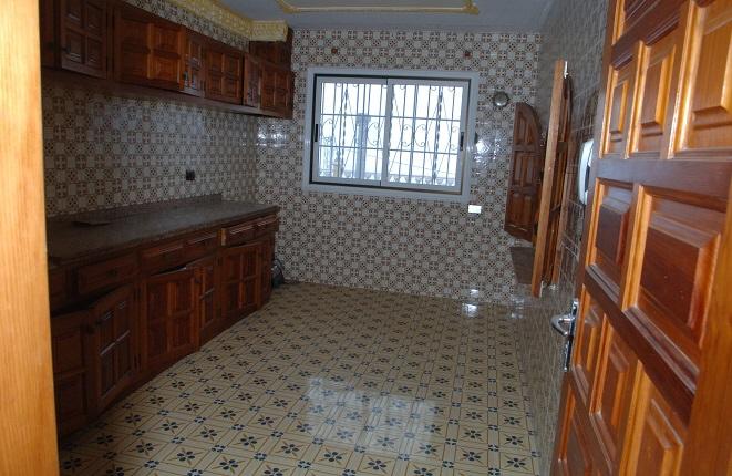 Blick in die geräumige Küche