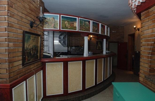Elegante Bar des Lokals