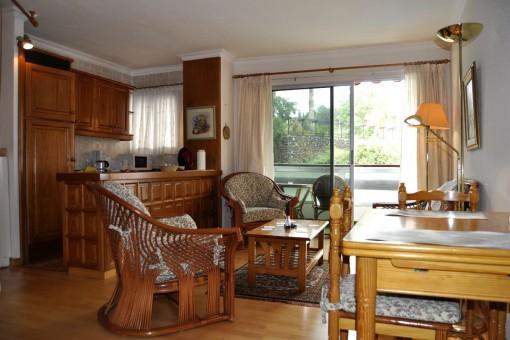 Gemütliches Studio bei Hotel Maritim mit Terrasse und Schwimmbad nahe Puerto de la Cruz