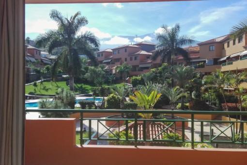Modernes, möbliertes Apartment mit Gemeinschaftspool und Terrasse in Puerto de la Cruz