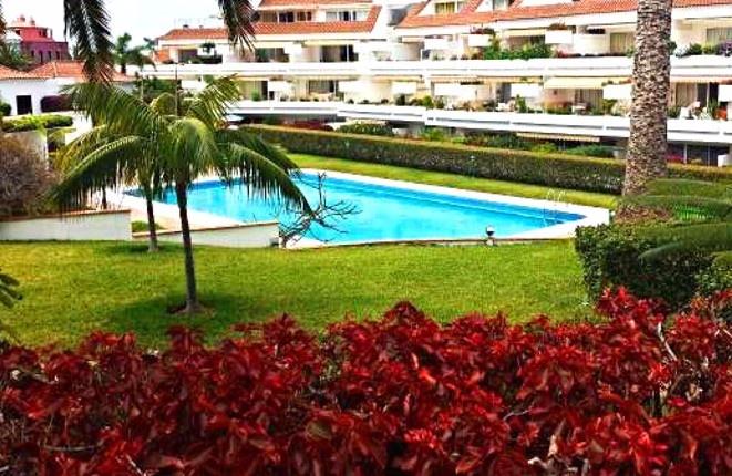 La Paz, im Tajinaste: Schönes Apartment mit privatem Garten und Pool auf Teneriffa