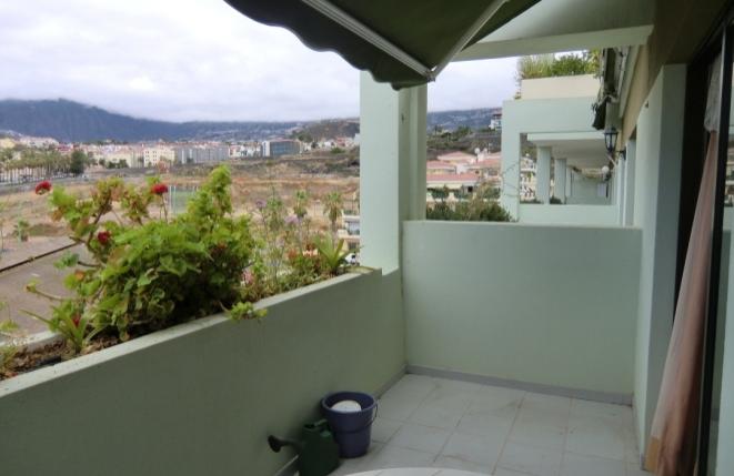 Terrasse mit Blick zur Landseite